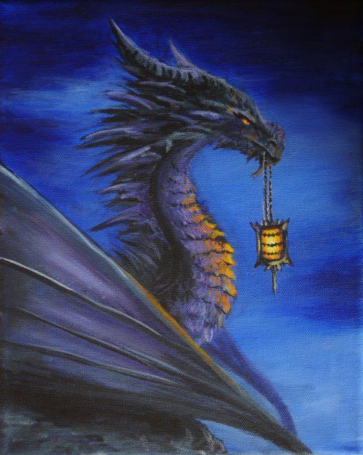 Dragon With Lantern
